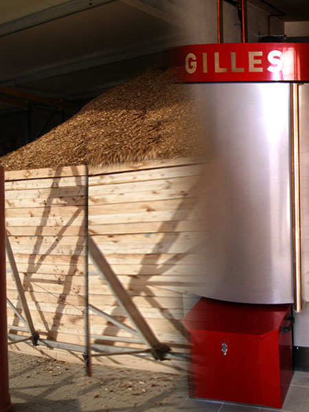 Holzhackschnitzelheizung - ein Modell der Energiegewinnung mit erneuerbaren Energien