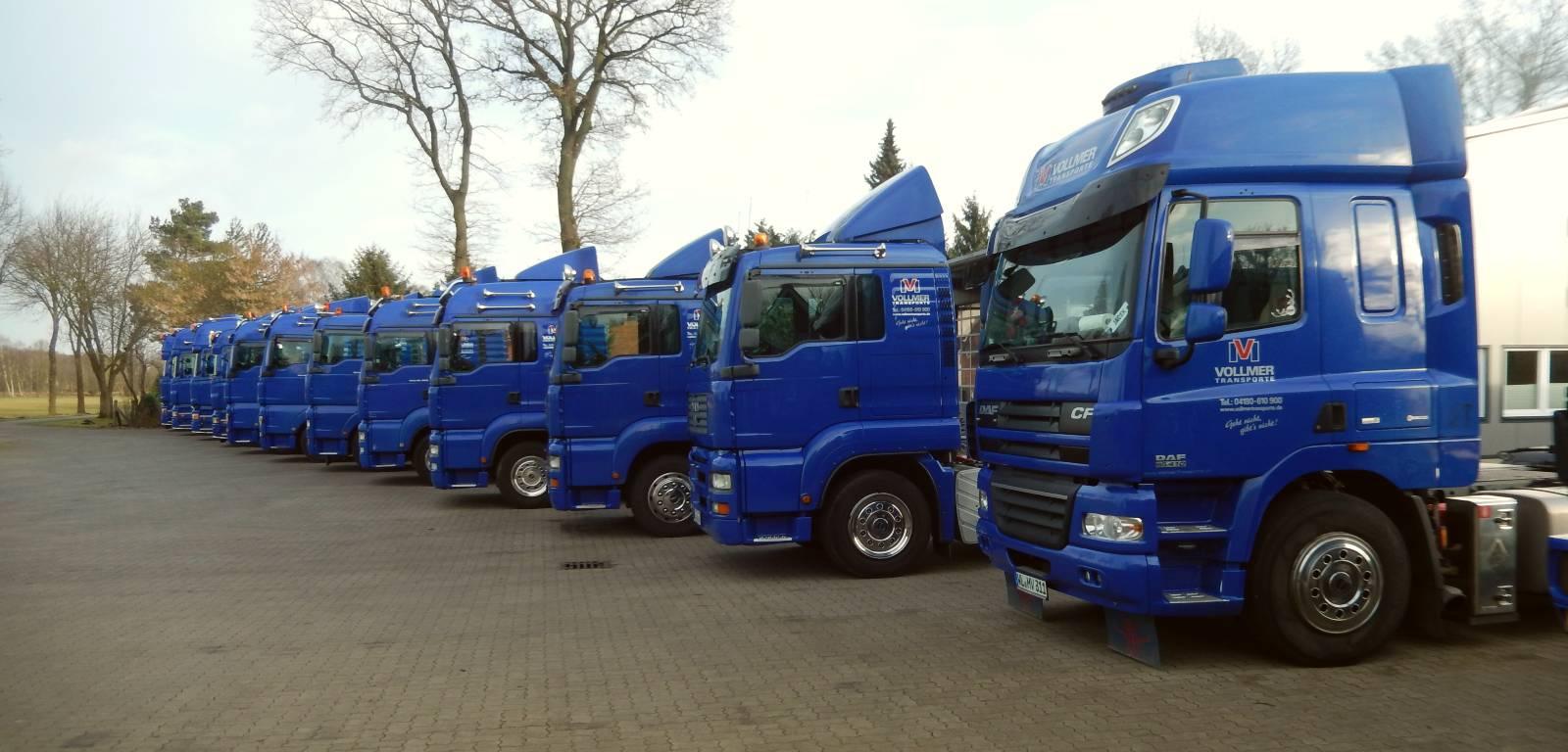 LKWs Vollmer Transporte
